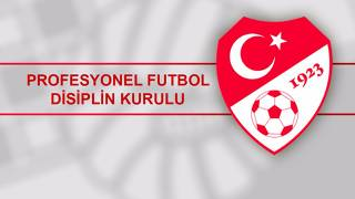 PFDK'dan Fenerbahçe, Beşiktaş ve Trabzonspor'a ceza