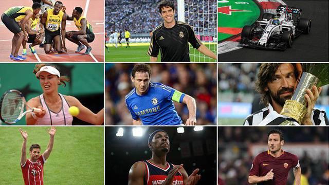 Spor dünyasına 2017'de veda eden yıldızlar