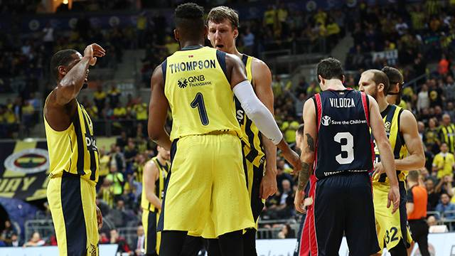 Fenerbahçe Doğuş 79 - 74 Baskonia