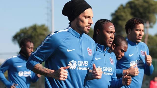 Trabzonspor'da Sosa ve Esteban krizi çözüldü