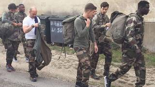 Salih Uçan askeri kampta!
