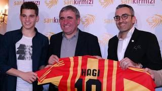 Gheorghe Hagi, oğlu Ianis Hagi'yi Viitorul'a transfer etti