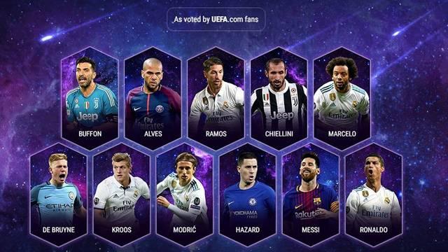 UEFA, yılın 11'ini açıkladı!