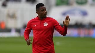 Samuel Eto'o, Palmeiras yolunda