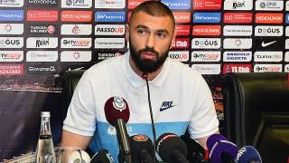 Burak Yılmaz Trabzonspor'dan ayrılabileceğini açıkladı