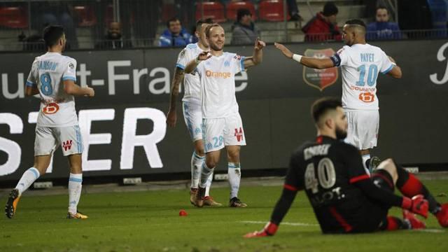 Rennes 0 - 3 Marsilya