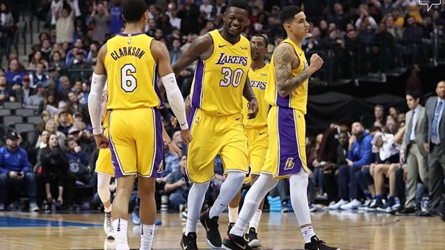 Lakers'tan üst üste 4. galibiyet