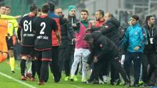 Bursaspor Gençlerbirliği maçı sonrası olaylar çıktı