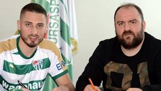 Bursaspor Grozav ile resmi sözleşme imzaladı