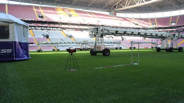 Türk Telekom Stadı hibrit çimle yenileniyor