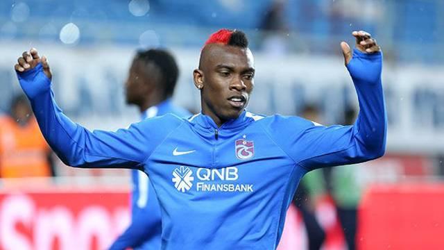 Trabzonspor'da Castillo sakatlandı