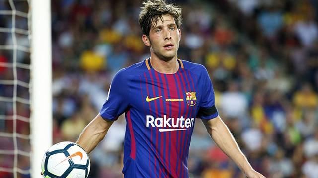 Barcelona Sergi Roberto'nun sözleşmesini 2022'ye kadar uzattı