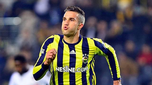 Van Persie Fenerbahçe'ye veda etti