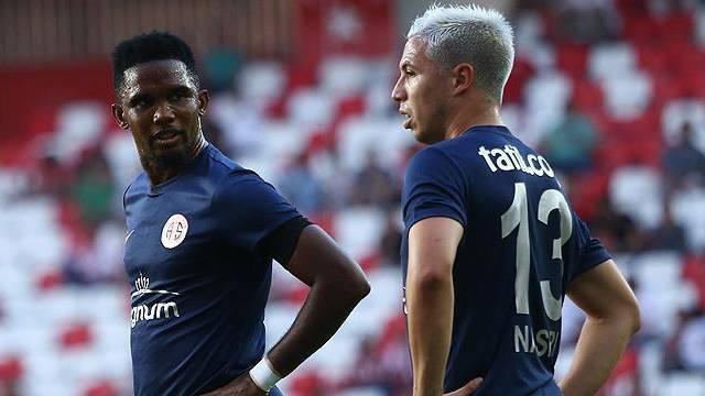 Antalyaspor'da Eto'o ve Nasri'nin son durumu