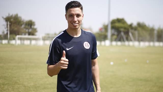 Antalyaspor Samir Nasri'nin sözleşmesini feshetti