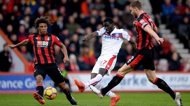 Badou Ndiaye, Stoke City'de asistle yaptı!