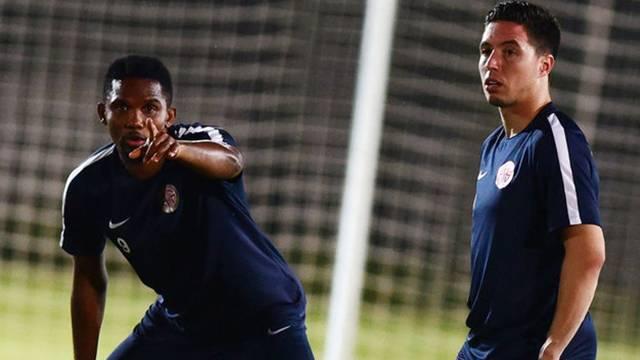 Antalyaspor'da Eto'o ve Nasri skandalı ortaya çıktı