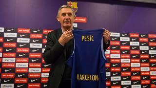 Barcelona Lassa Svetislav Pesic'i başantrenörlük görevine getirdi