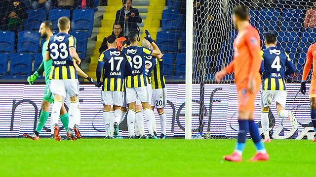 Medipol Başakşehir 0 - 2 Fenerbahçe (Maç özeti)