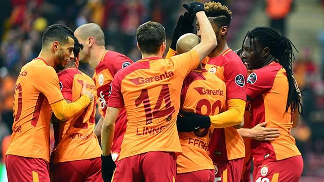 Galatasaray 3 - 0 Antalyaspor (21. hafta puan durumu)