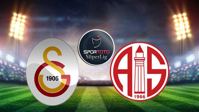 Galatasaray - Antalyaspor maçı ne zaman, saat kaçta, hangi kanalda? (GS - Antalya maçı canlı izle)