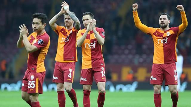 Galatasaraylı yıldızlardan Antalya galibiyeti yorumu