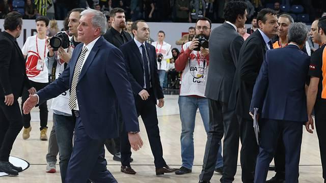 Ergin Ataman: 'Oyuncularım onurlu olduklarını gösterdi'