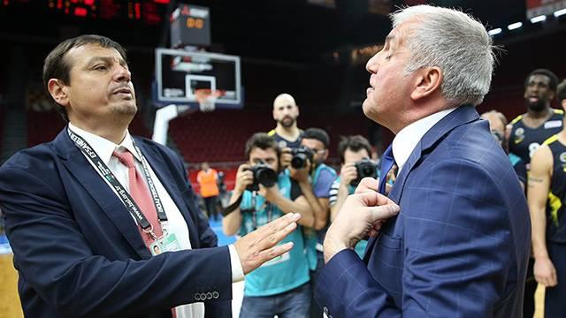 Ergin Ataman: 'Obradovic'in elini sıkmaya gittim, o gelmedi'