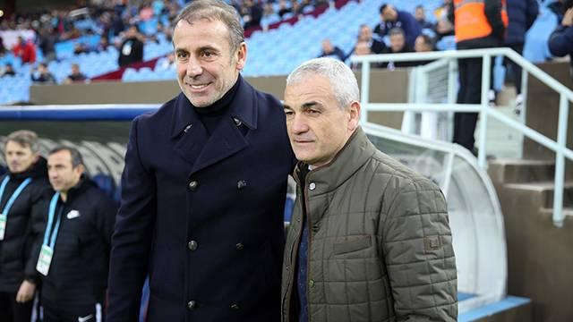 Rıza Çalımbay ve Abdullah Avcı'nın maç sonu açıklamaları