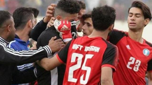 Alaa Ahmed oğlunu kaybettikten bir gün sonra maça çıktı