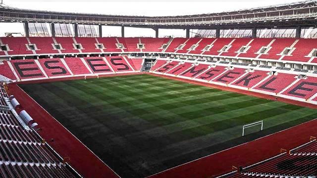 Eskişehirspor'un yeni stadının ismi 'ETİ' oldu