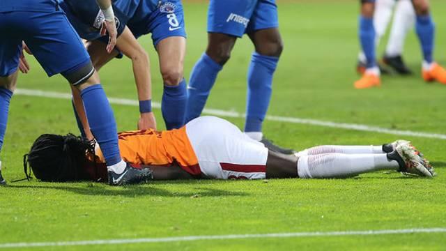 Gomis, Galatasaray'da 2 kez daha bayılmış