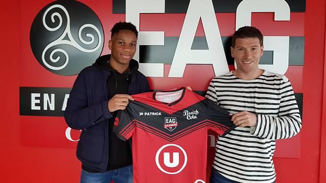 Drogba'nın oğlu Isaac Drogba Guingamp'a transfer oldu