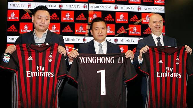 Milan'ın sahibi Yonghong Li'nin iflas ettiği iddia edildi