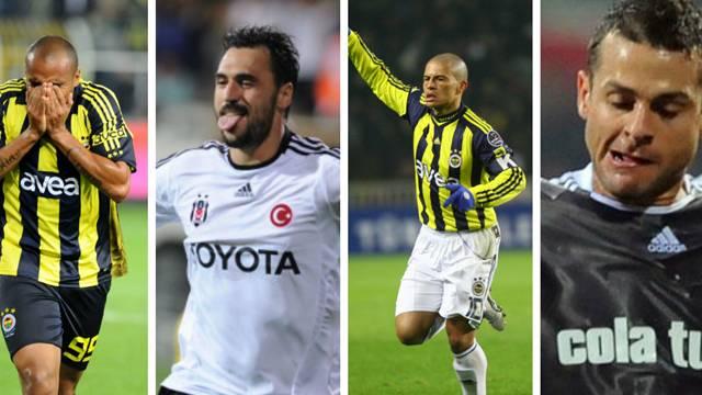 Fenerbahçe - Beşiktaş derbisinin en golcü isimleri