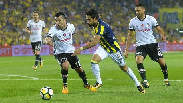 Beşiktaş - Fenerbahçe maçı muhtemel 11'leri...