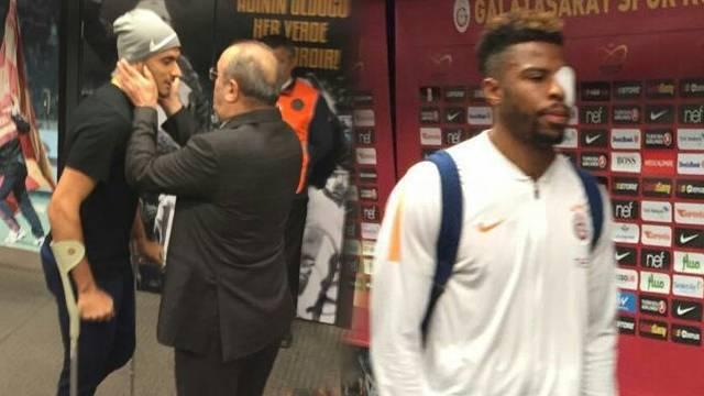 Galatasaray'dan Eren Derdiyok ve Ryan Donk açıklaması! Sakatlık...