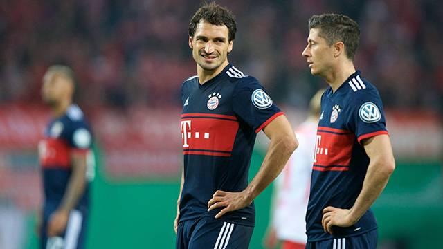 Bayer Münih antremanında Hummels ve Lewandowski tartıştı