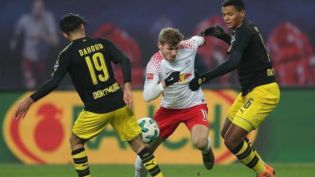 RB Leipzig 1 - 1 Borussia Dortmund (Maç özeti)
