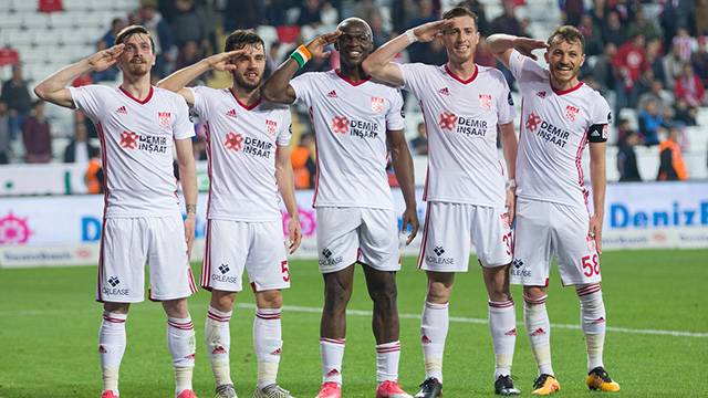 Antalyaspor 1 - 4 Demir Grup Sivasspor