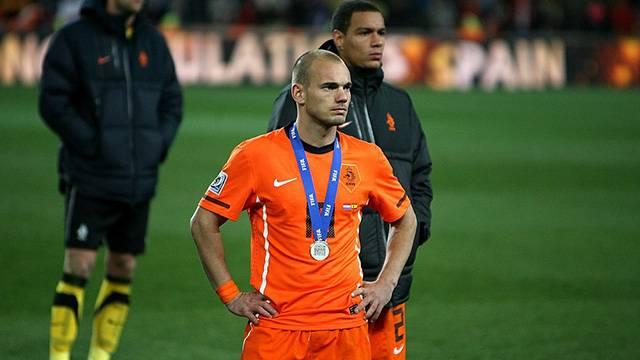 Sneijder: '2010 Dünya Kupası finalini unutamıyorum'