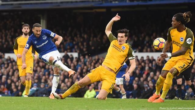 Cenk Tosun bu kez Brighton'a golünü attı