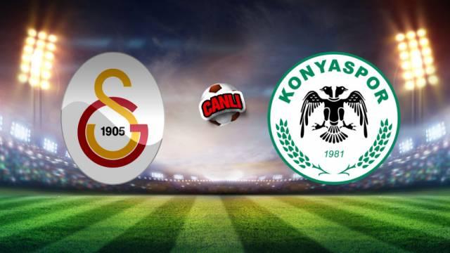 Galatasaray Konyaspor maçı canlı izle – GS Konya maçı saat kaçta?