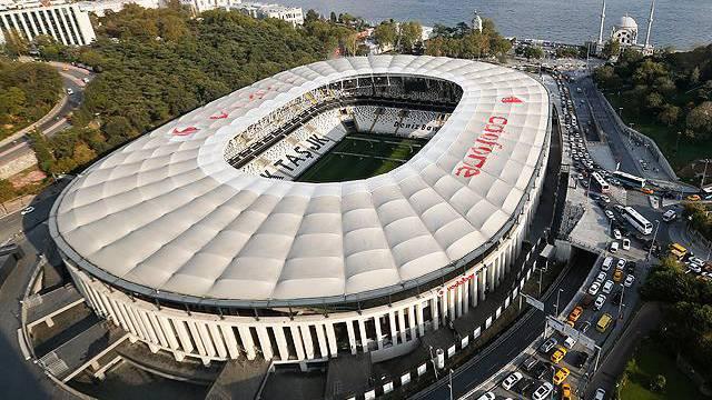 UEFA'dan Vodafone Park paylaşımı