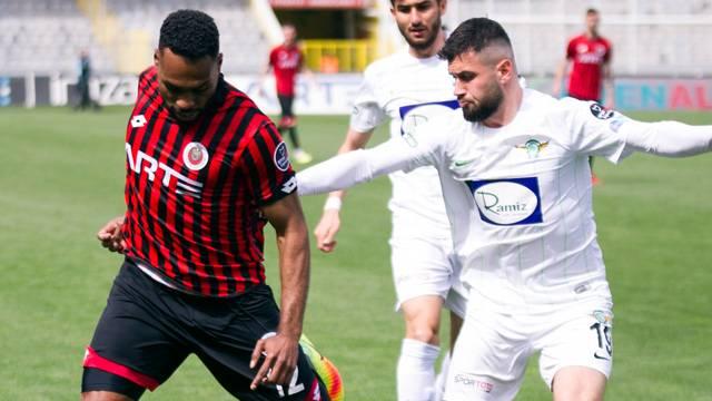Gençlerbirliği 1-1 Akhisarspor (Maç özeti)