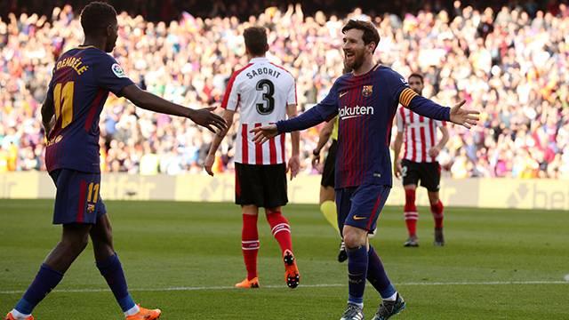 Barcelona 2 - 0 Athletic Bilbao (Maç özeti)