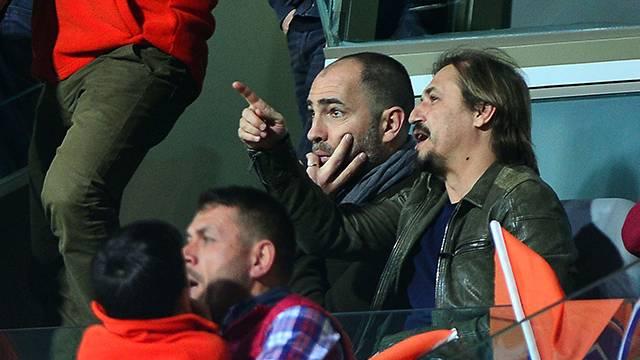 Tudor Başakşehir-Beşiktaş maçını izledi