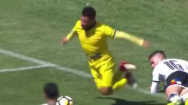 Şili Ligi'nde skandal penaltı