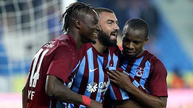 Trabzonspor'da golcü katkısı