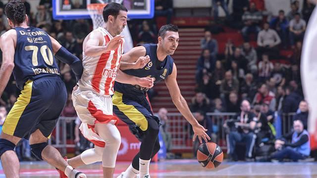 Kızılyıldız MTS 63 - 80 Fenerbahçe Doğuş